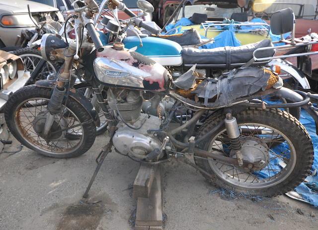 1968 Ducati 350 Desmo Frame no. 06278 Engine no. 06278