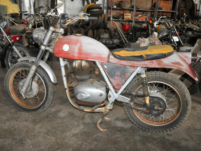 1968 Benelli/Wards Mojave 360 Frame no. *H33387* Engine no. HS*36818*