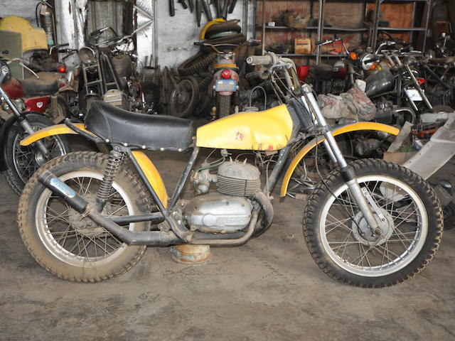 c.1970 Bultaco Pursang 250 Frame no. B6801497 Engine no. M-4801442