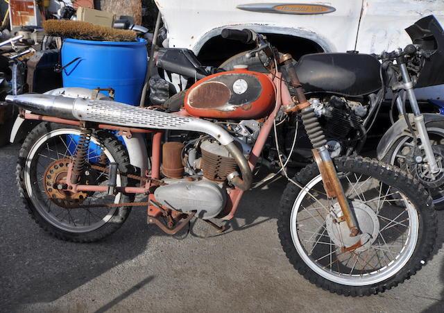 1962 Tempo  Cross 175 Frame no. 144102 Engine no. 3754803