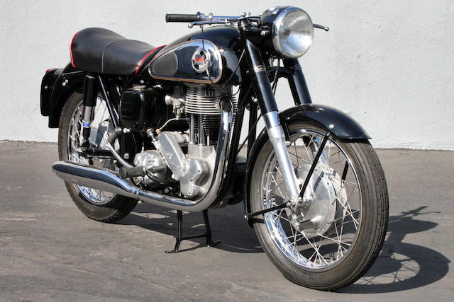 1959 Norton ES2 Frame no. 81856