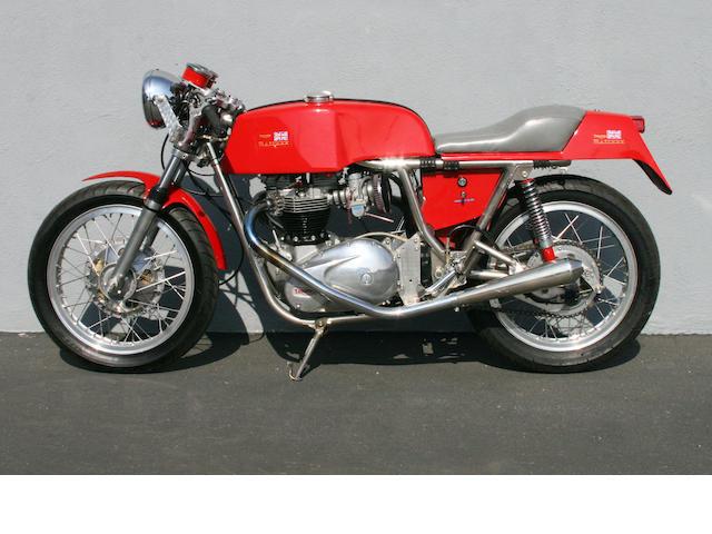 1969 Rickman Triumph  Frame no. R182 Engine no. T12021968