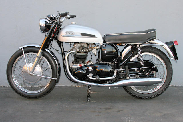 1962 Norton 650SS Frame no. 10086 Engine no. 10086