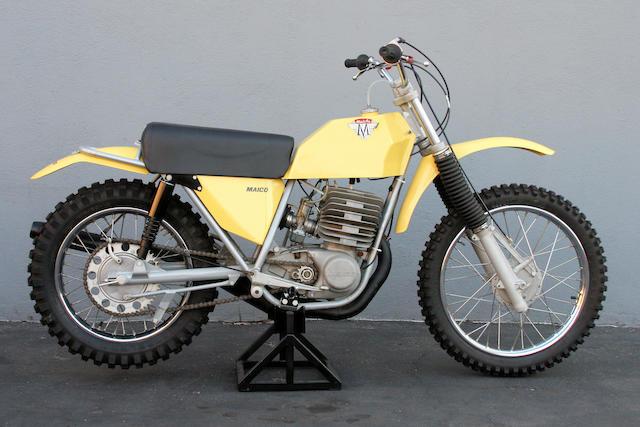 1974 Maico 450 Frame no. 392293 Engine no. K440829