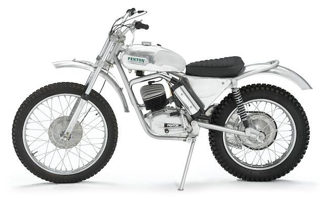 c.1970 Penton Wassell 125 Sachs Trials