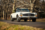 <b>1969 Mercedes-Benz 280SL Roadster  </b><br />Chassis no. 113044.10.010031 <br />Engine no. 130983.10.003945