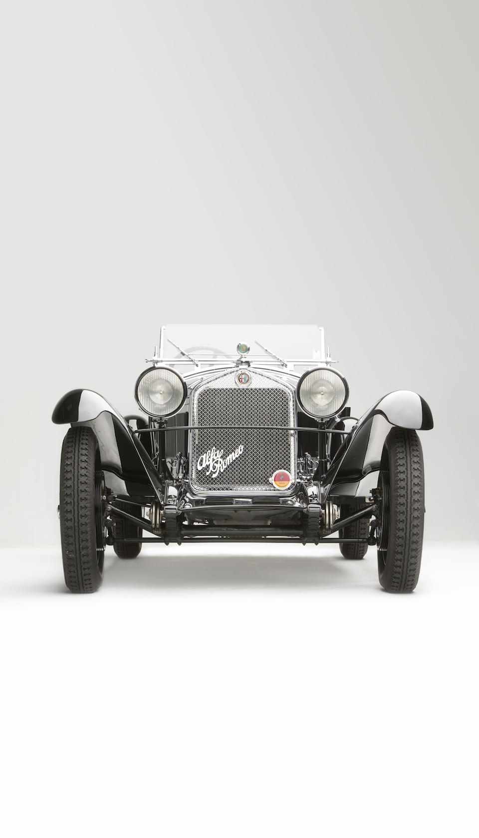 <i>The ex-Baron Philippe de Gunzbourg and Victor Polledry</i><br /><b>1931 Alfa Romeo 6C 1750 Supercharged Gran Sport Spider  </b><br />Chassis no. 10814356 <br />Engine no. 10814356