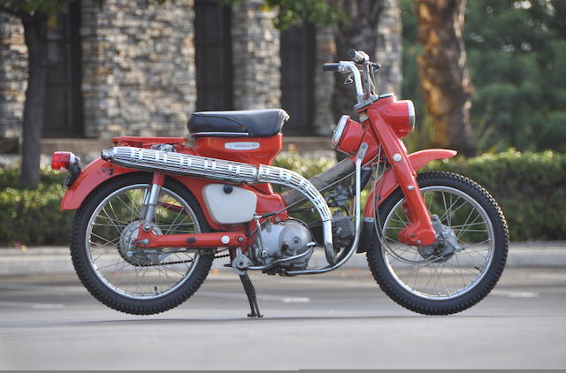 The ex-Roy Rogers,1968 Honda Trail 90 Frame no. CT90149161 Engine no. CT90E149083
