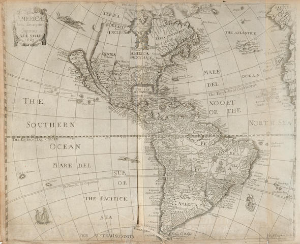 HEYLYN, PETER. 1600-1662. Cosmographie.... London: for Anne Seile, 1669.