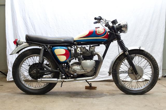 Customized by Von Dutch,1961 Triumph TR5C Frame no. H22827 Engine no. TR5C H22827
