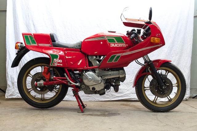 1981 Ducati 500 SL Pantah Frame no. DM600SLA661673  Engine no. DM500L.1 602456