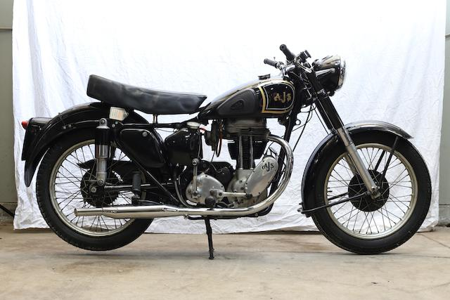 1952  AJS  Model 18S 500cc Single Frame no. 79094 Engine no. 5218 S 19896