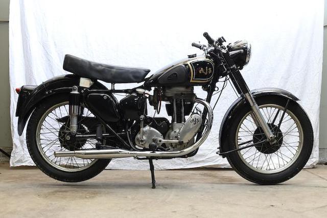 1952  AJS  Model 18S 500cc Single Frame no. 79094 Engine no. 5218 S 19896