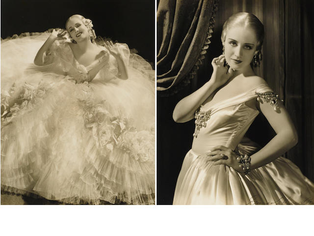 A pair of George Hurrell photographs of Norma Shearer