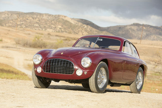 <i>The Tailor's Car – Ex-Augusto Caraceni and Count Antonio Naselli</i><br /><b>1951 Ferrari 212 Export Berlinetta  </b><br />Chassis no. 0088 E <br />Engine no. 0088 E