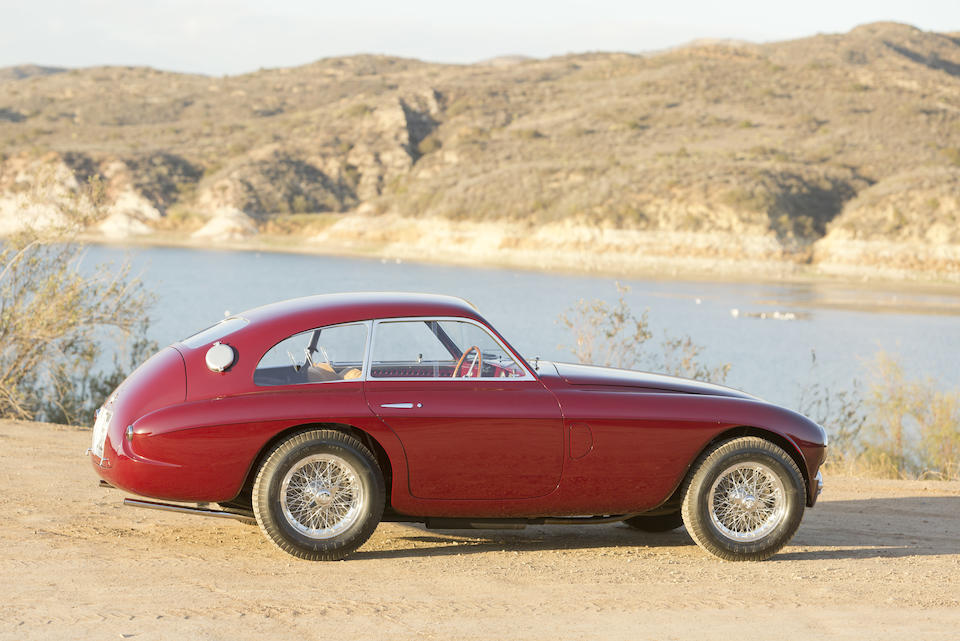 <i>The Tailor's Car &#150; Ex-Augusto Caraceni and Count Antonio Naselli</i><br /><b>1951 Ferrari 212 Export Berlinetta  </b><br />Chassis no. 0088 E <br />Engine no. 0088 E