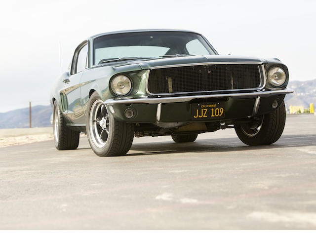 "<i>The ""Bullitt"" Mustang built by Gateway Classics for Chad McQueen</i><br /><b>1968/2011 Ford Mustang Fastback  </b><br />VIN. DRMVB0000157695M0"