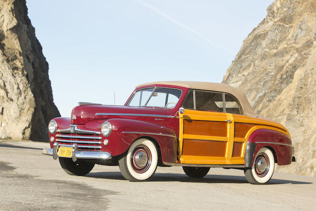 <i>Dearborn Award Winning</i><br /><b>1947 Ford Super Deluxe Sportsman Convertible  </b><br />Chassis no. 799A173781
