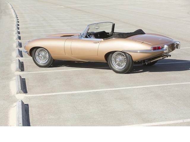 <b>1962 Jaguar E-Type Series 1 3.8-Liter Roadster  </b><br />Chassis no. 876520 <br />Engine no. R3522-9