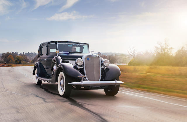 <b>1935 Lincoln Model K 304-B Non-Collapsible Cabriolet  </b><br />Chassis no. K4280 <br />Engine no. K4280