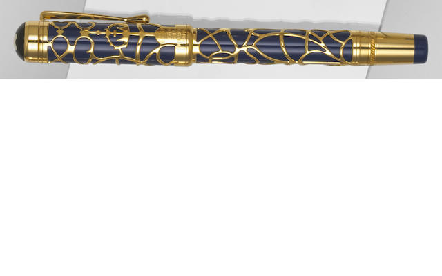 MONTBLANC: Prince Regent Patron of Art Limited Edition 4810 Fountain Pen