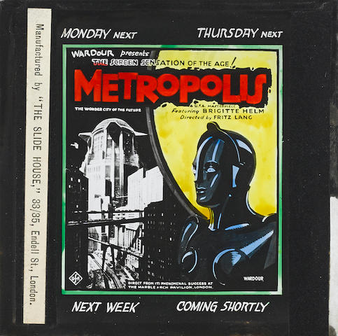 A Metropolis glass slide