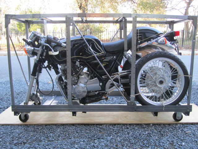 1989 Honda GB500 Frame no. JH2PC1603KK001368