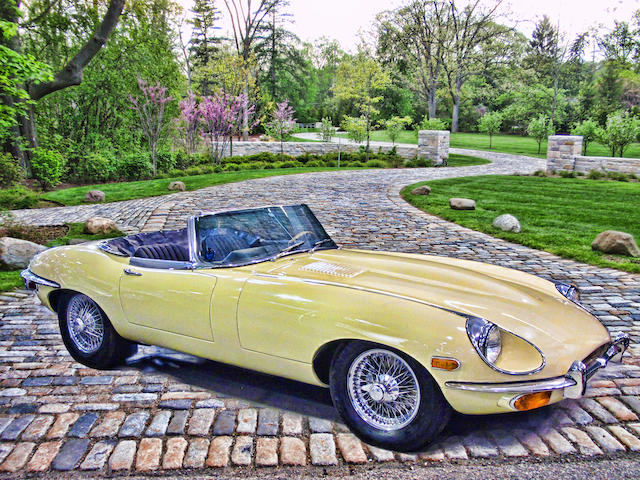 <b>1968 Jaguar E-Type 4.2-Liter Series II Roadster  </b><br />Chassis no. 1R 7088 <br />Engine no. 7R 1208-9