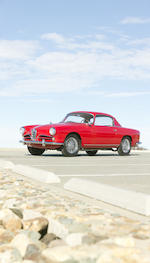 <b>1957 Alfa-Romeo 1900C Super Sprint  </b><br />Chassis no. AR1900C 10596 <br />Engine no. AR 1308 10564