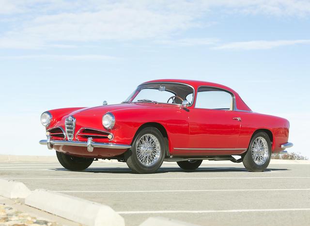 <b>1957 Alfa-Romeo 1900C Super Sprint  </b><br />Chassis no. AR1900C 10596 <br />Engine no. AR 1308 10564