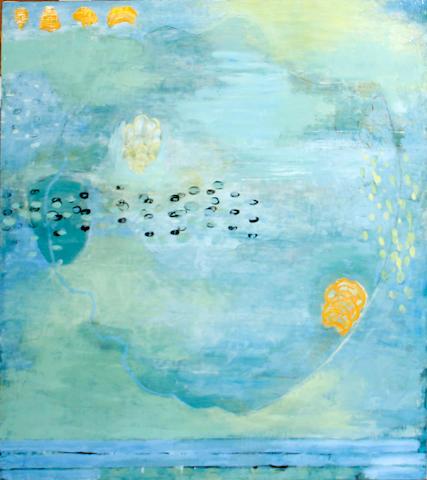 Pegan Brooke (American, born 1950) Duxbury Reef, 5 (on  Shore Wind), 2000 48 1/4 x 42 1/4in