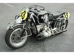 1954 BMW  R67/2 Sidecar Racer Frame no. 615584 Engine no. 615584