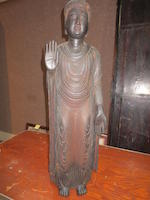 A large figure of the Buddha Edo period