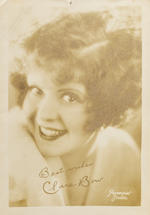 A Clara Bow signed photograph