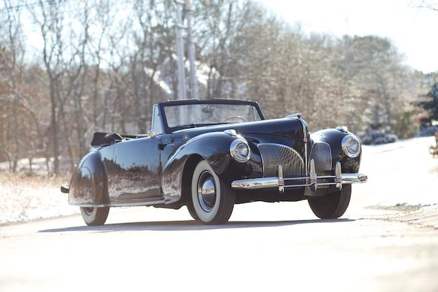 <b>1941 Lincoln Continental Convertible  </b><br />Chassis no. H617749