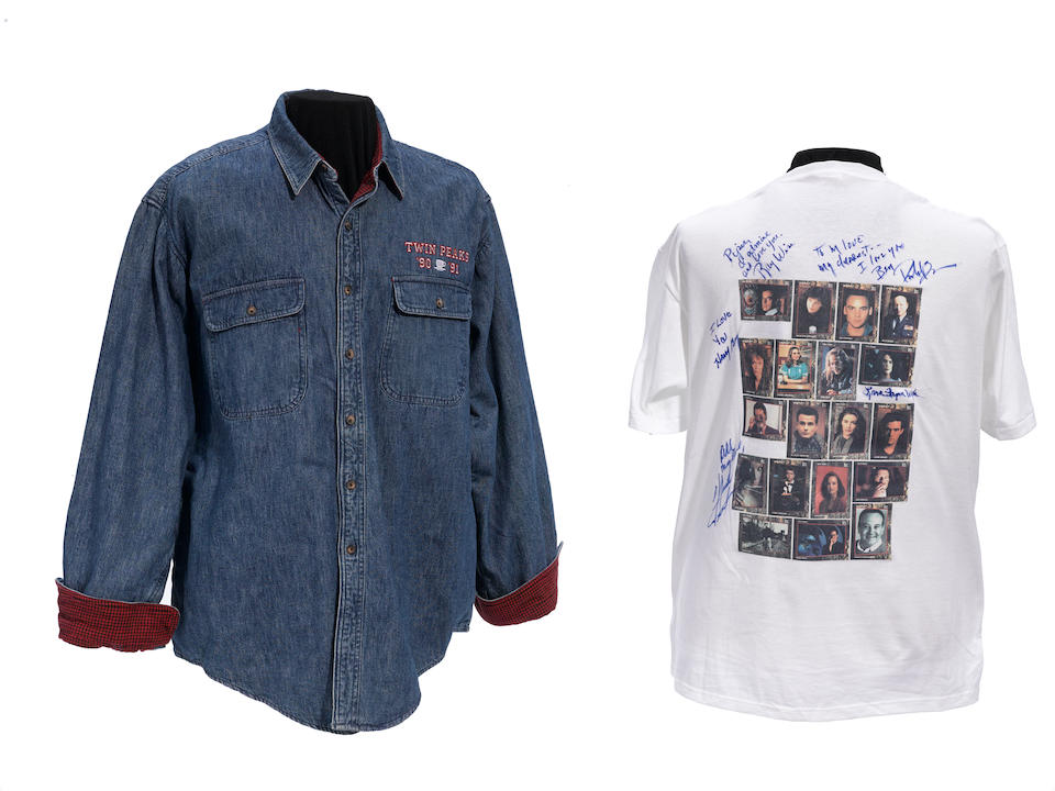 A Piper Laurie Twin Peaks cast t-shirt and jacket