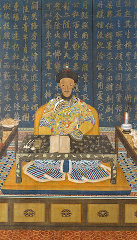 Anonymous, An Informal Portrait of the Daoguang Emperor (1782-1850) Early 19th Century