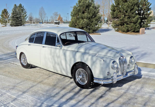 <b>1962 Jaguar MKII 3.8 Saloon  </b><br />Chassis no. P219390 <br />Engine no. LB8643