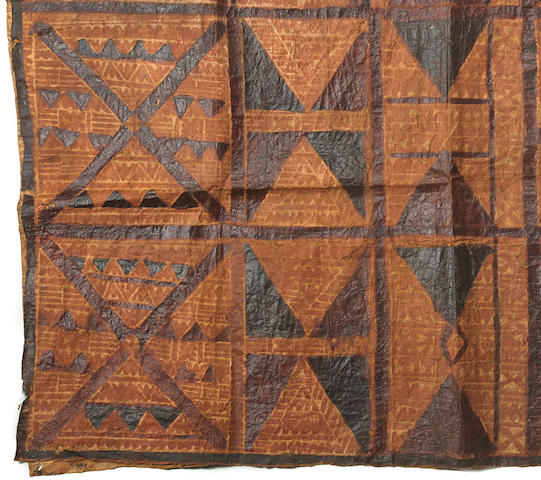 Barkcloth, Samoa Islands