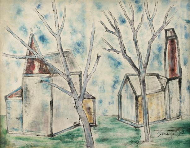 Francis Newton Souza (India, 1924-2002) Untitled