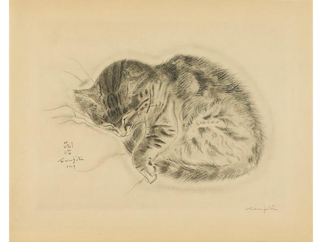FOUJITA, TSUGUHARU. 1886-1968. JOSEPH, MICHAEL. A Book of Cats. New York: Covici Friede, 1930.