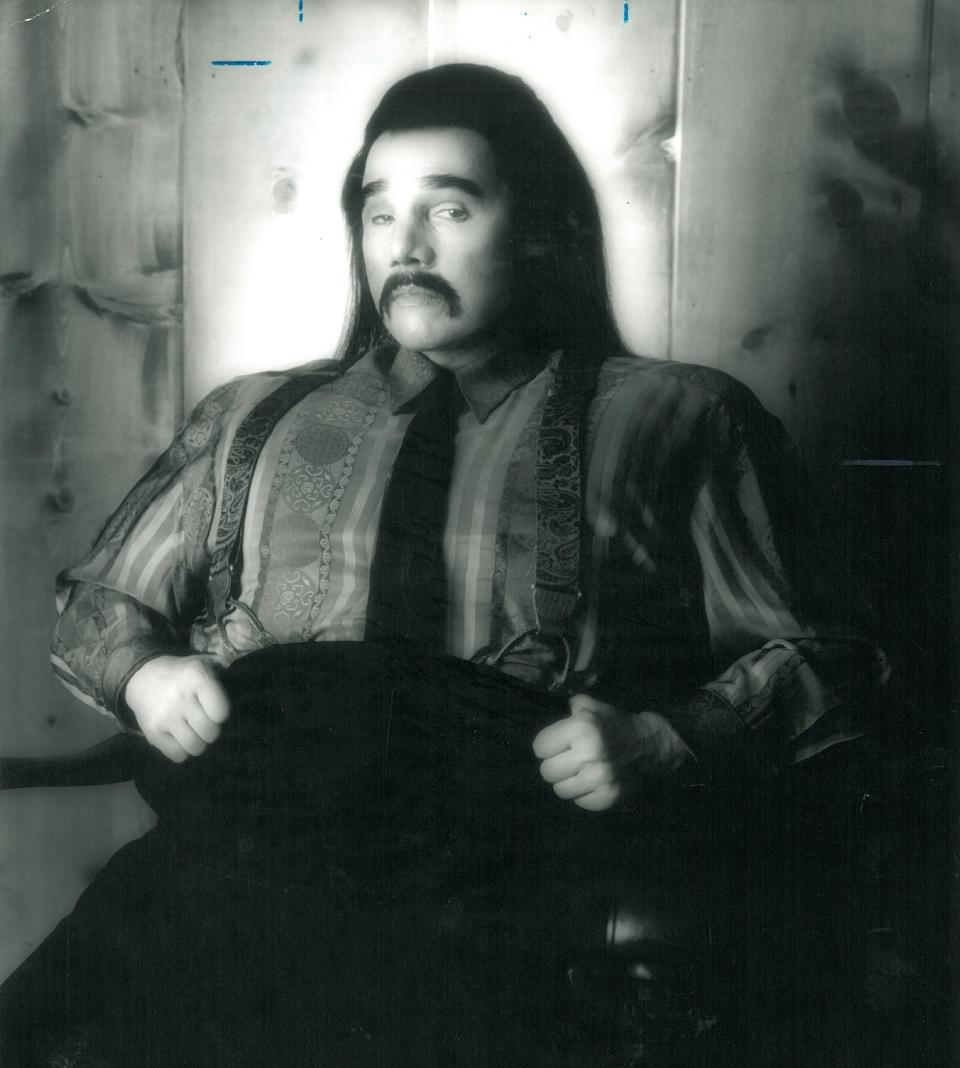 A silk shirt worn by Piper Laurie as Mr. Tojamura on Twin Peaks