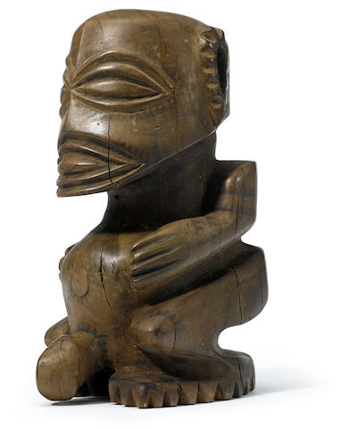 Rare Fisherman's God, Rarotonga Island, Cook Islands