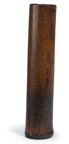 Batak Inscribed Rod, Sumatra Island, Greater Sunda Islands
