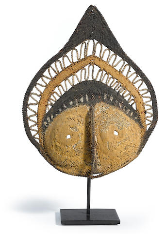 Abelam Yam Mask, Prince Alexander Mountains, Middle Sepik River Region, Papua New Guinea