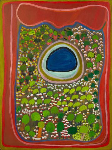 Mona Chuguna (1933 – 2011)Puntarr (Permanent Waterhole), 2003