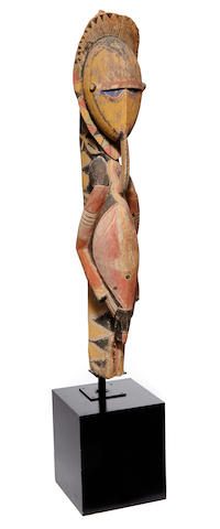 Abelam Male Ancestral Figure,  probably Kalabu Village, East Sepik Province, Papua New Guinea