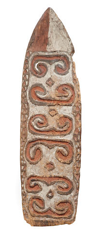 Asmat Shield, probably Southern Lowlands, Western Papua New Guinea