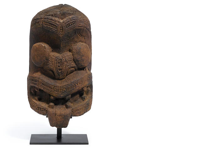 Replica Maori Gable Mask, New Zealand