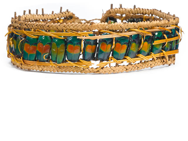 Headband, probably Wahgi Area, Mount Hagen, Papua New Guinea